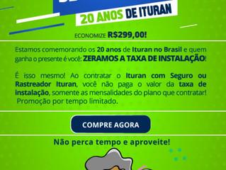 Ituran com Taxa Zero na Instalação do Rastreador
