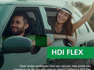 HDI FLEX - Liberdade e proteção no Seguro de Automóvel!