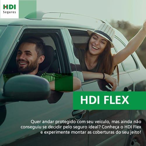 HDI FLEX, o seguro na medida certa para o seu veículo