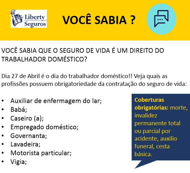 Liberty Seguro de Vida para Trabalhadores Domésticos