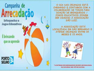 Campanha de Arrecadação - Dia das Crianças