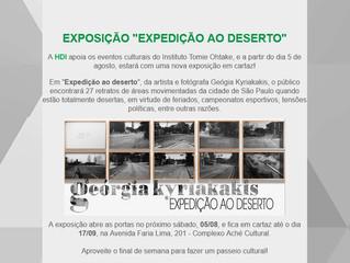 """EXPOSIÇÃO """"EXPEDIÇÃO AO DESERTO"""""""
