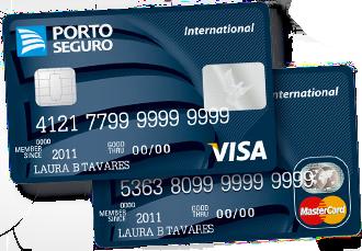 cartão de crédito porto seguro, cartão de crédito, porto seguro, azul seguro, visa, martercard, unionseg, corretora de seguros