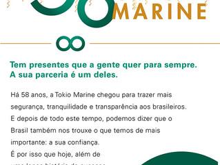Tokio Marine Comemora 58 Anos de Brasil
