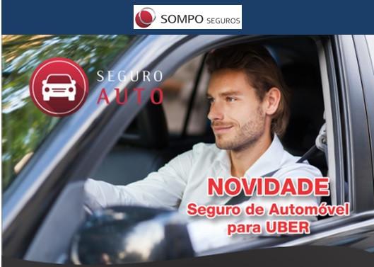 SOMPO, Seguro de Uber, Seguro de Automóvel, Seguro de Frota, Unionseg, Corretora de Seguros