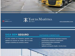 Novidades no Seguro de Transporte com a Yasuda Marítima