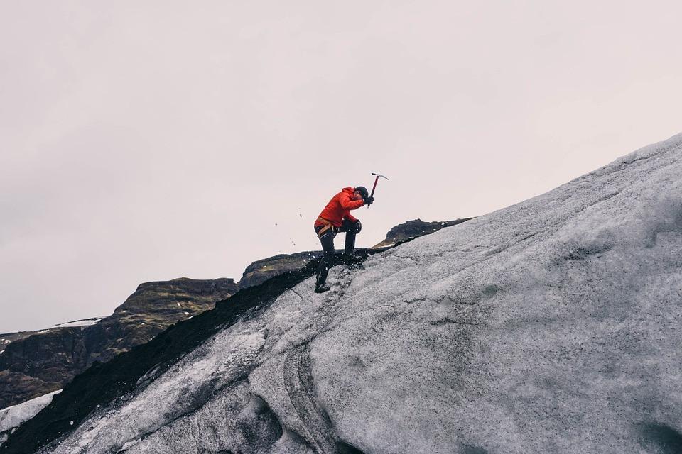 Mountain climbing is hard, like strategy