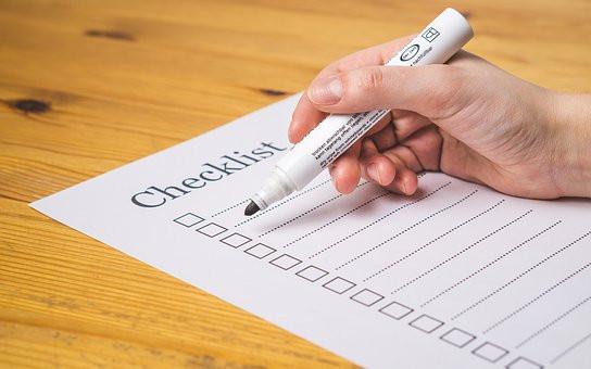 Checklist for strategic marketing