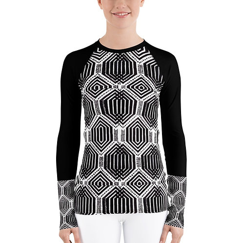 Honeycomb Women's Long-sleeve