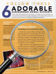 Cute Sophia Loren Featured in Albuquerque The Magazine