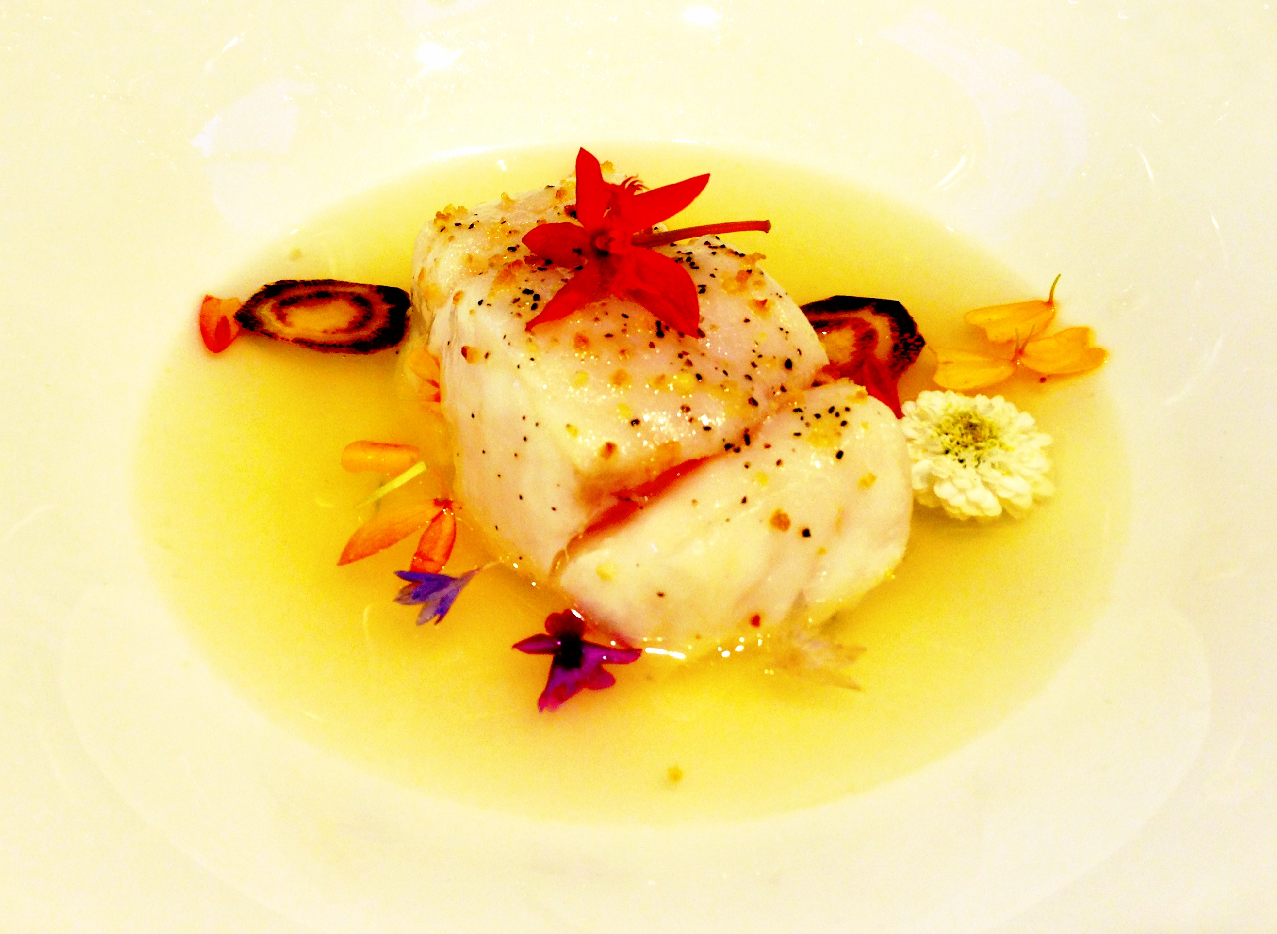 Spicy & Floral Citrus Consomme