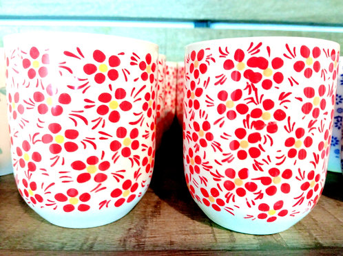 bicchierini da tè e sake Japan colori misti set da 2