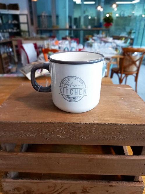 kitchen mug in ceramica linea