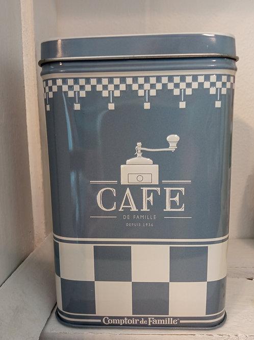 barattolo latta caffè