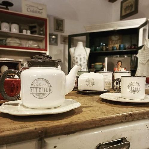 teiera in ceramica linea kitchen