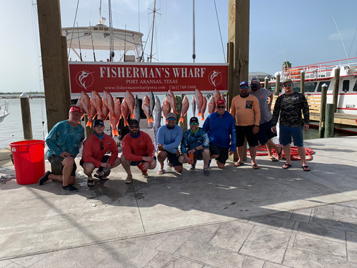 July 4th Offshore Fishing Trip!