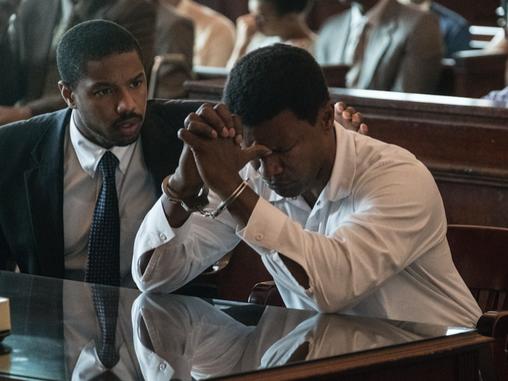 """Just Mercy"" follows young lawyer Bryan Stevenson played by Michael B Jordan"