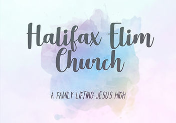 A family lifting Jesus high in Halifax