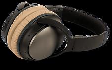 Black and Brown Headphones