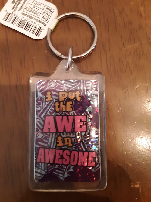 Awesome Keychain