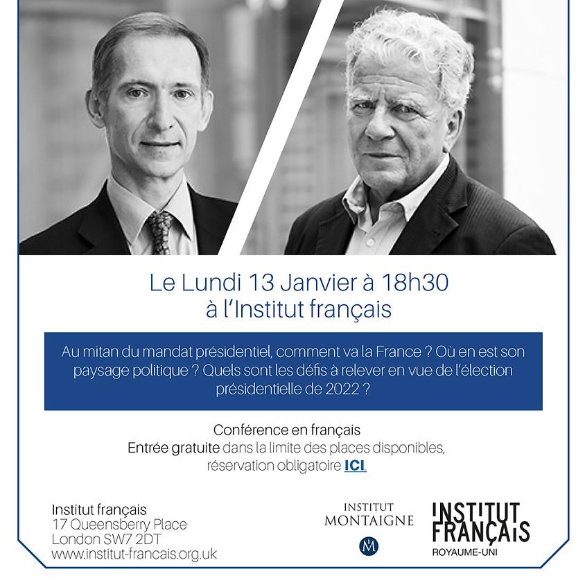 France: le grand bouleversement de la vie politique (in French) - N.Baverez & O.Duhamel