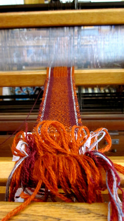 The Process of Weaving a Strap