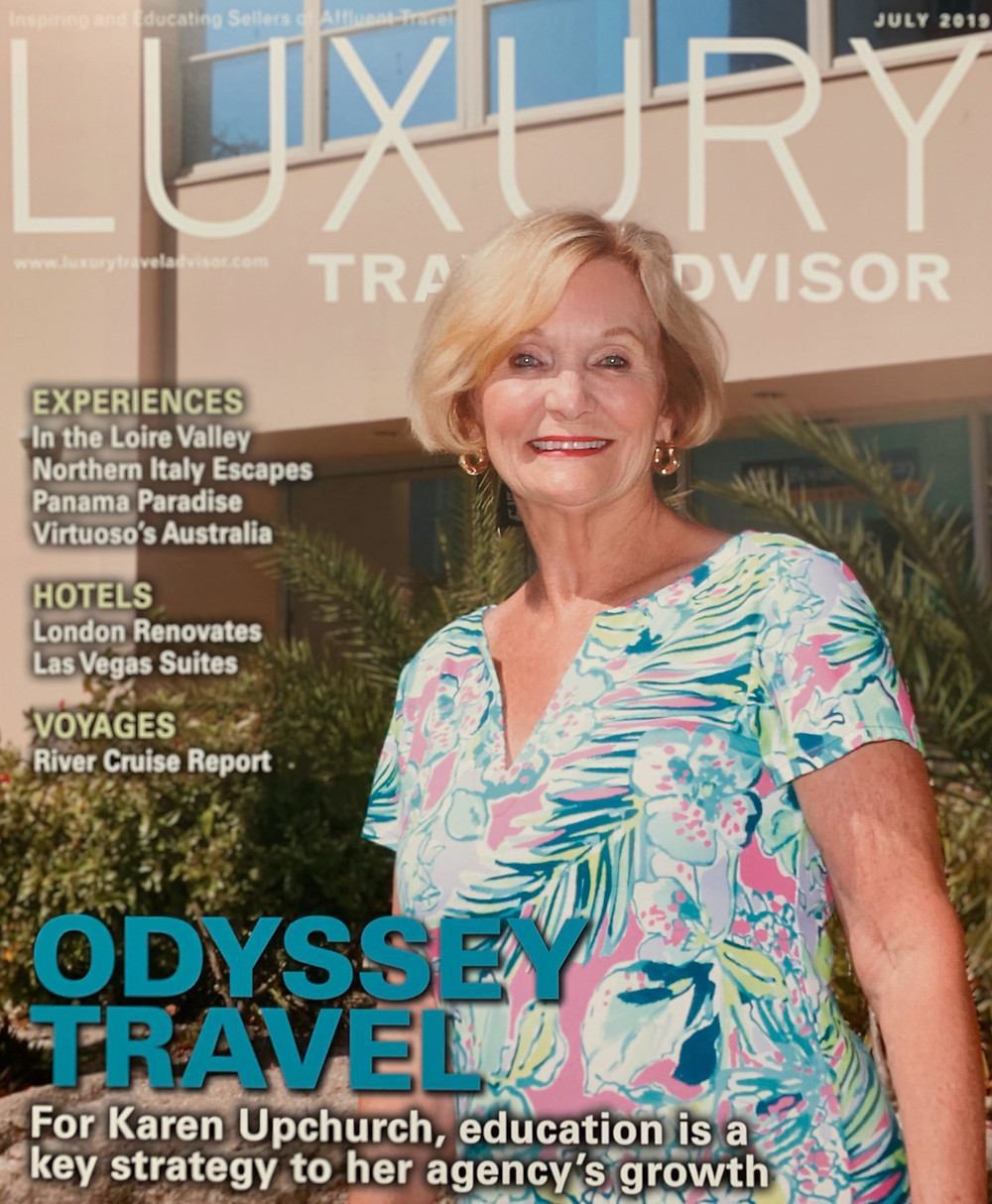 Karen Upchurch Luxury Travel Advisor