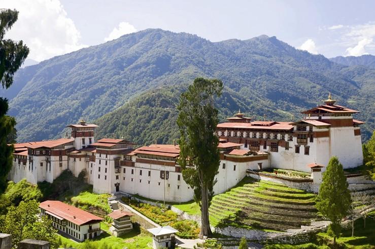 Bhutan-Hillside
