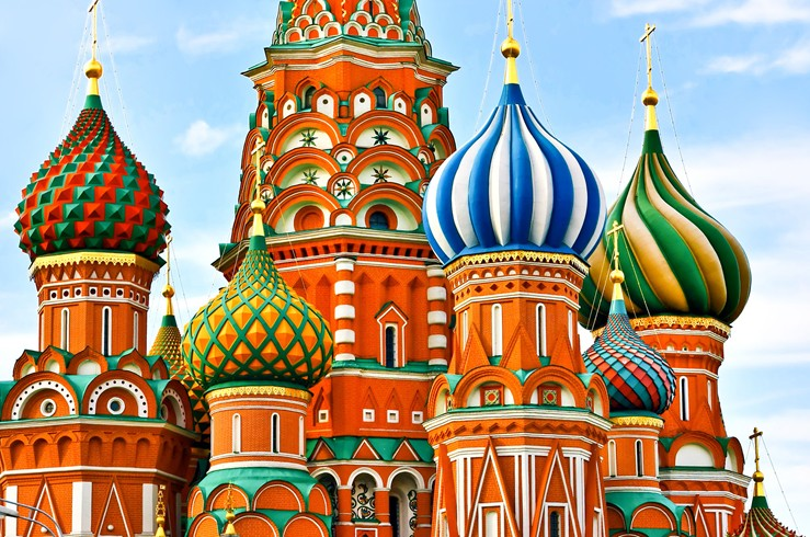 Russia-Spires