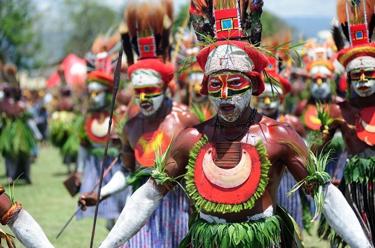 Papua-Tribal