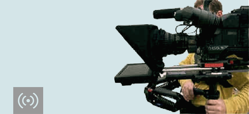 Space Cow Wireless Steadycam Teleprompter Set Up