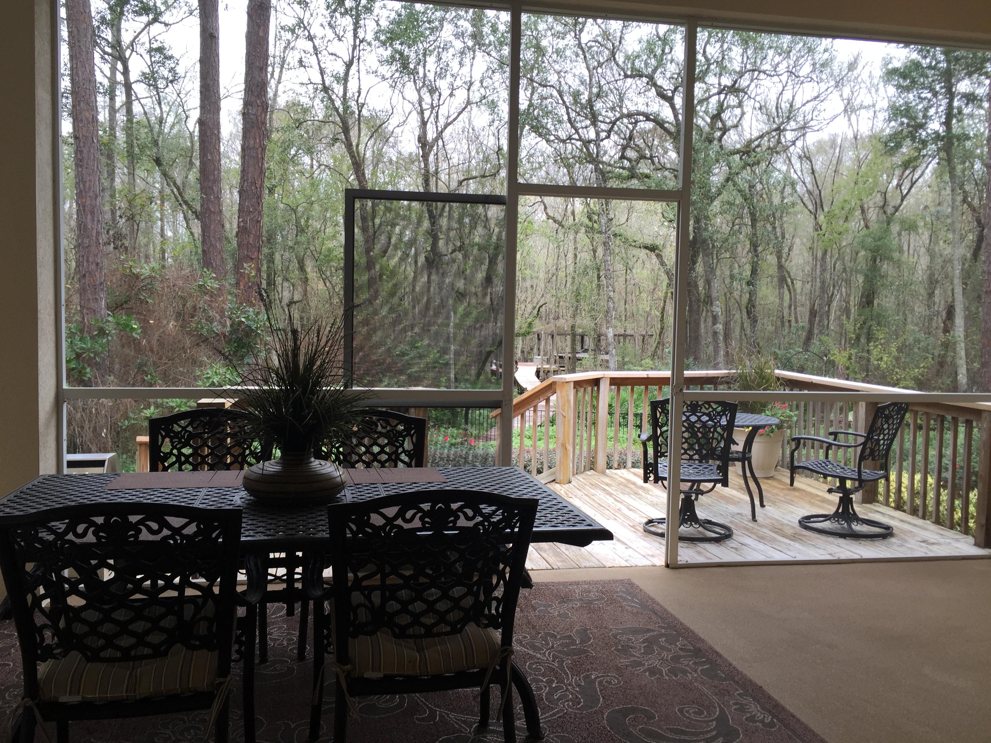 Back porch - 1