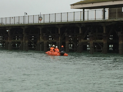 Ryde pier inspections