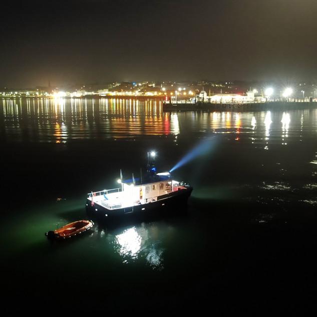 Anchorman Ryde Pier