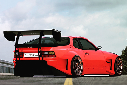 Porsche 944 Over Fender Widebody Flares