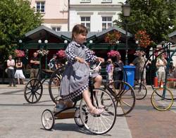 przejażdżki trycyklem dziecięcym