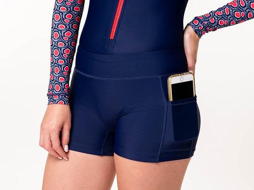 Blue Panty bottom בגד ים מכנסון