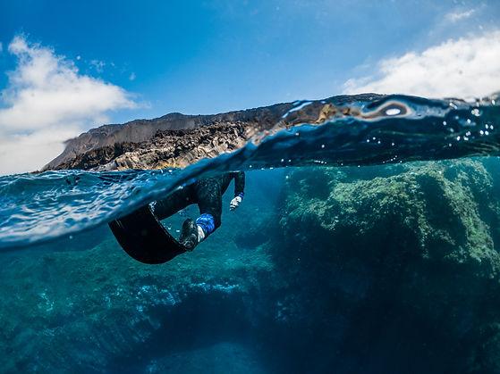 Snorkelling La Palma Oceanologico