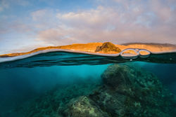 A sunset snorkel