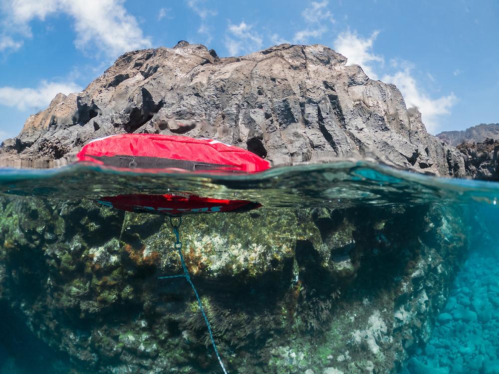 A Freediving Buoy.