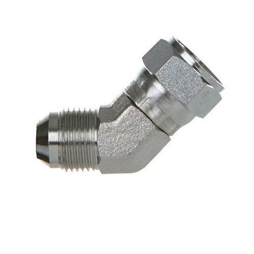 1/2 Swivel 45° Elbow Flare Connector