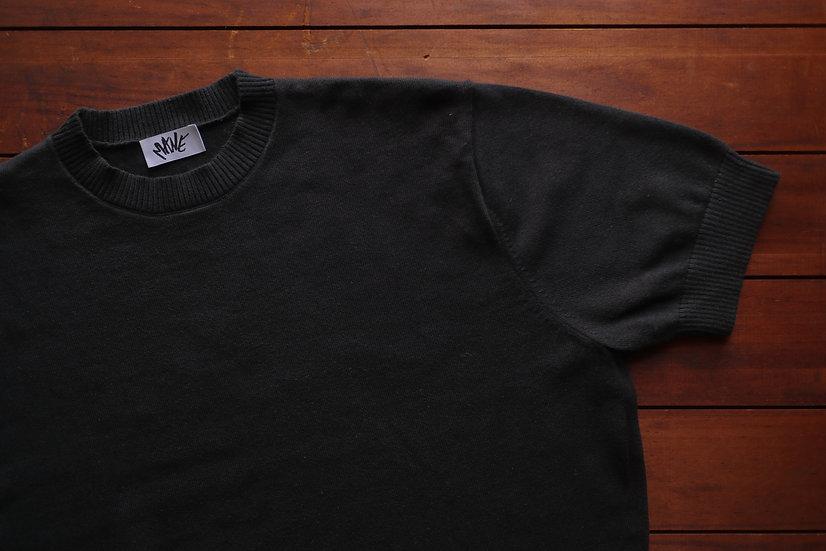 Ebony Knitted T Shirt