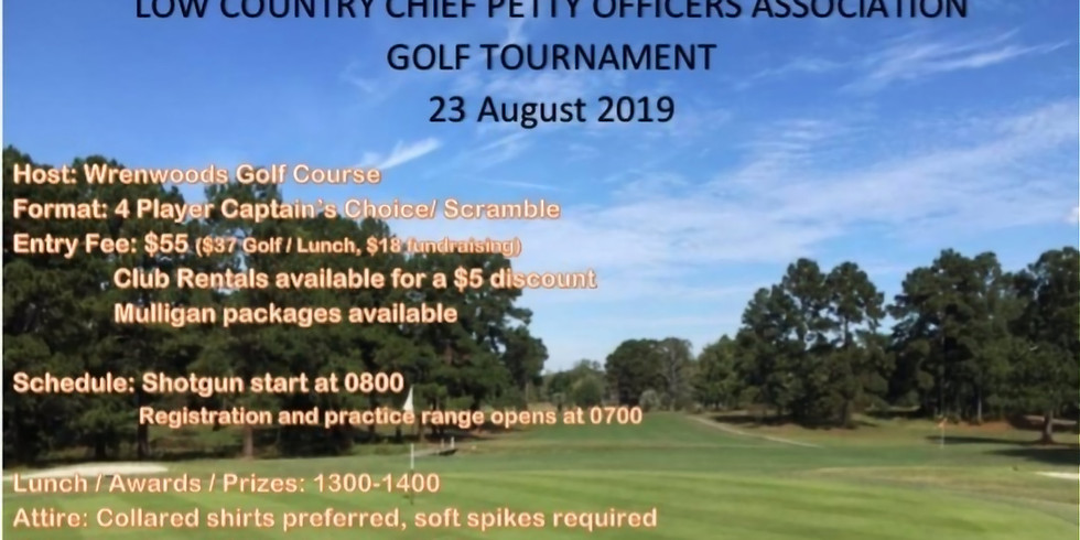 LOW COUNTRY CHIEF PETTY OFFICERS ASSOCIATION GOLF TOURNAMENT