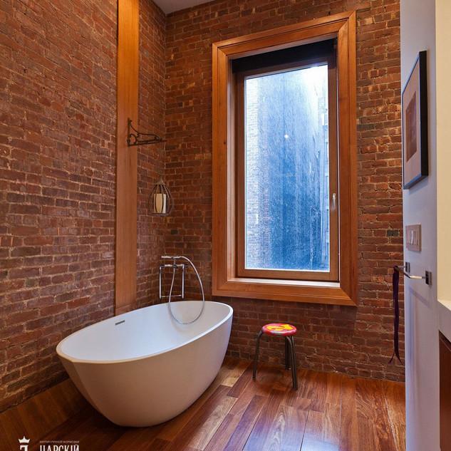 Облицовочная кирпичная плитка для ванной