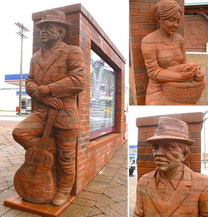 Скульптуры Бреда Спенсера