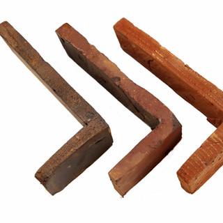 угловые элементы из кирпича ручной формовки