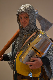 Sir William Marshall in King John Talk