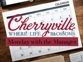 Monday with the Manager