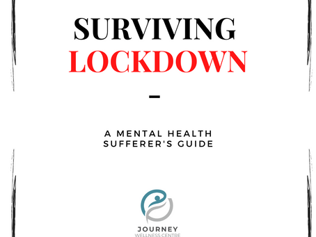 Surviving social distancing - A mental health sufferer's guide (part 1)