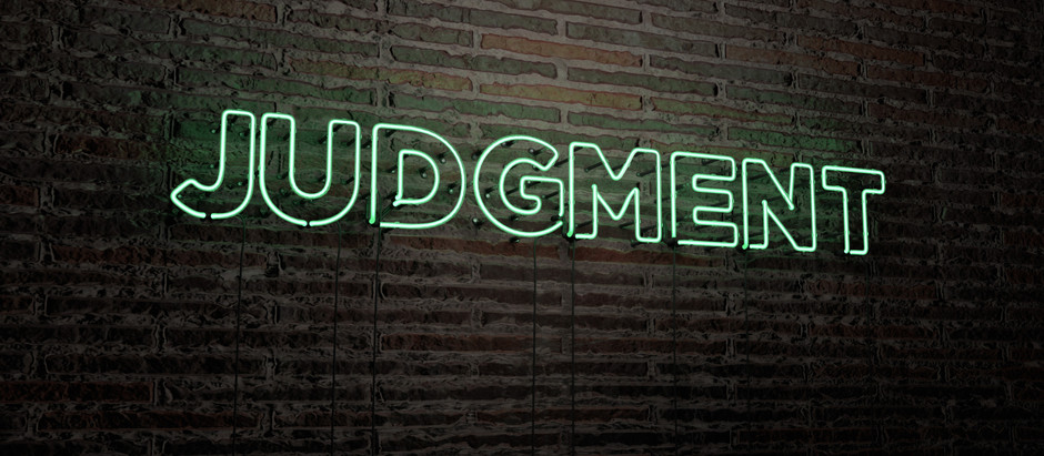 What Do We Do with Judgment?